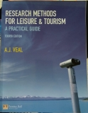 Research Methods for Leisure & Tourism - a Practical Guide
