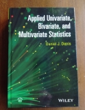 Applied Univariate, Bivariate and Multivariate Statistics