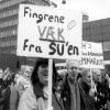 Demonstrationer mod nedskæring på SU