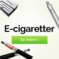 Spar penge ved at skifte til e cigaretter
