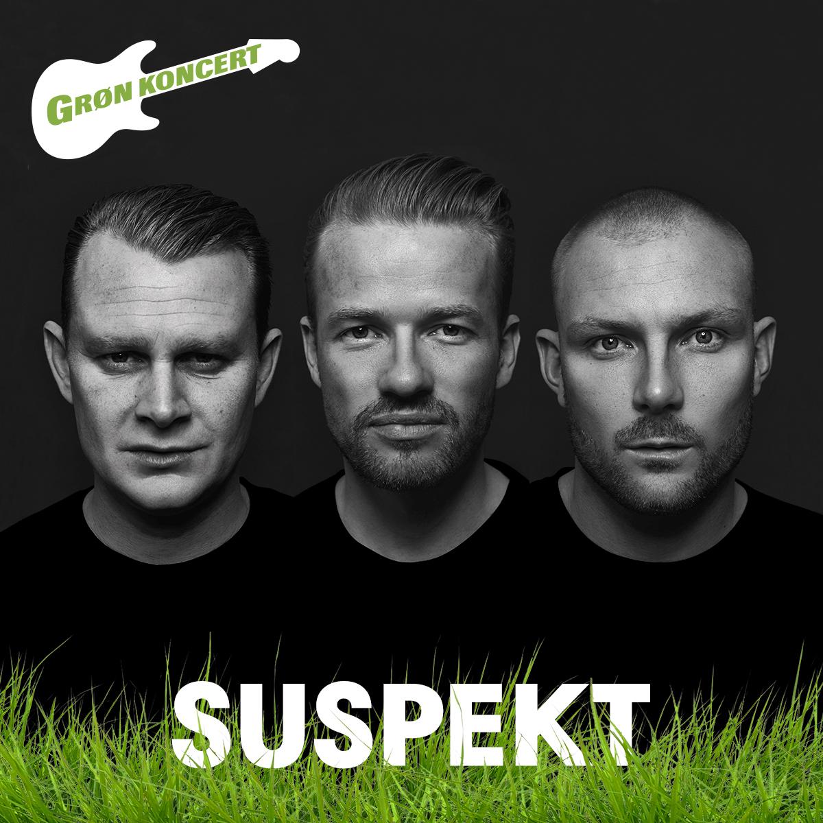 SUSPEKT på Grøn Koncert!