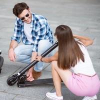Kom nemmere til og fra skole med et el-løbehjul
