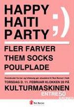 Happy Haiti Party på Kulturmaskinen i Odense