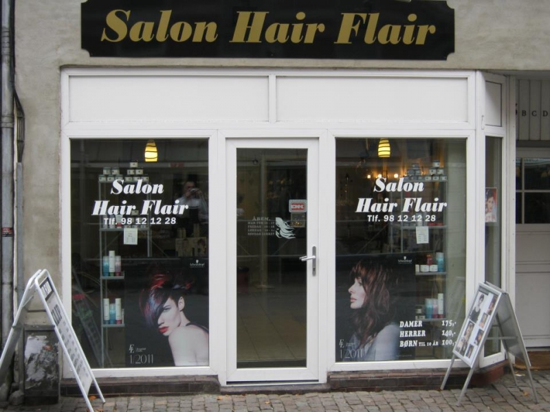 Salon Hair Flair I Aalborg